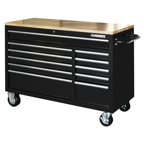 husky tool storage cabinets husky tool chest box 52 in 11 drawer toolbox cabinet 22