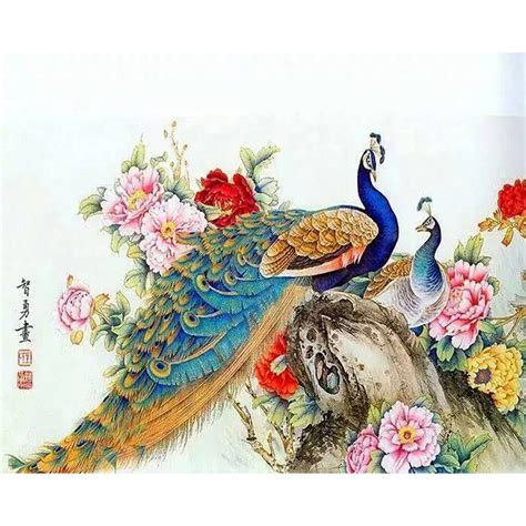 online buy wholesale peacock christmas decorations from