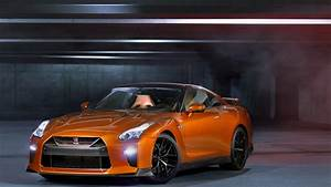 wallpaper, nissan, gt, r, , nyias, 2016, , supercar, , orange, , cars