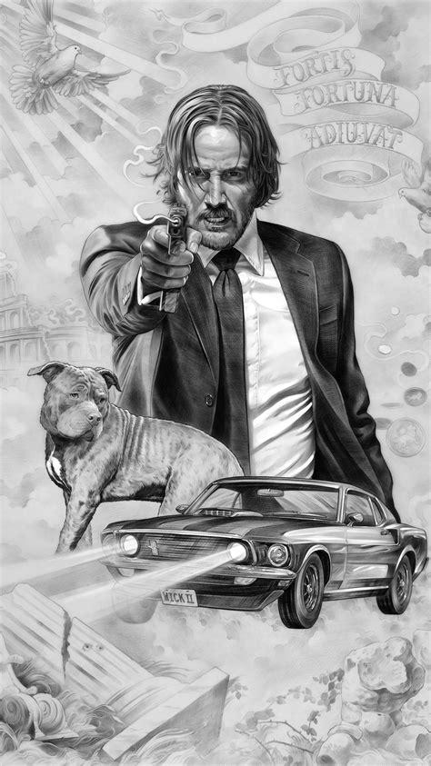 John Wick: Chapter 2 (2017) Phone Wallpaper | Moviemania