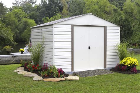 10x12 shed kit menards arrow vm1010 milford 10 x 10 vinyl coated steel storage shed