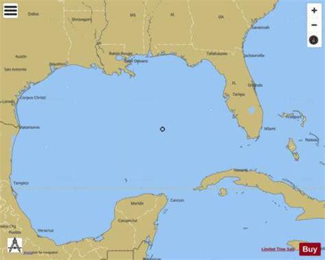 gulf  mexico marine chart usp nautical