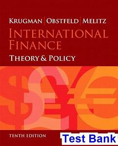 Test Bank For International Finance Theory And Policy 10th
