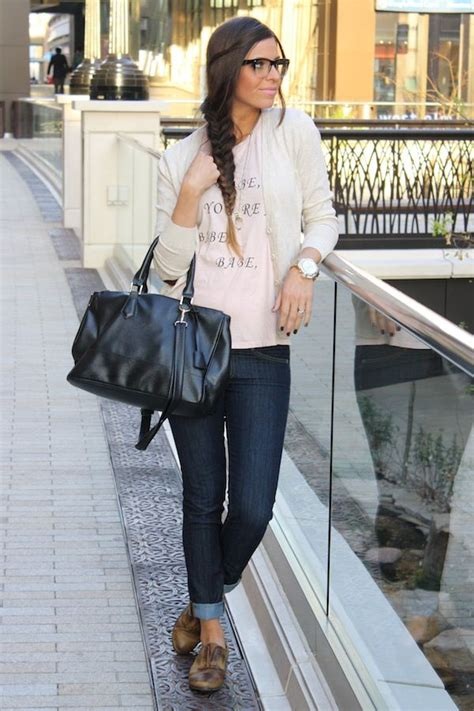 Casual date night outfit - cute tee cardi skinnies and oxfords | My Style | Pinterest | Flats ...