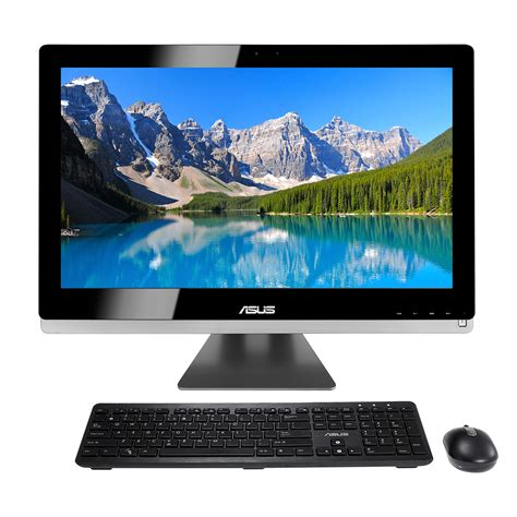 ecran tactile pc bureau asus all in one pc et2702igth b097k pc de bureau asus