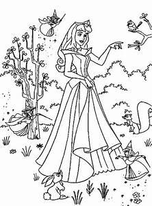 Fun  U0026 Learn   Free Worksheets For Kid  Disney Princess Aurora   Sleeping Beauty Free Coloring Pages