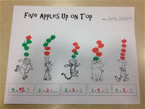 Incorporating MATH - It's a Kindergarten Thing