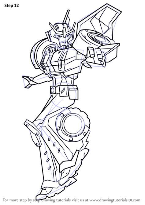 learn   draw strongarm  transformers transformers step  step drawing tutorials