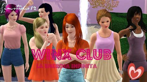 Winx Club La Energia Infinita Sims 3 Series 1/4