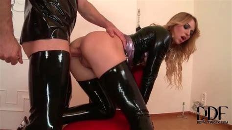 Slut In Tight Latex Fucked In The Butt Anal Porn