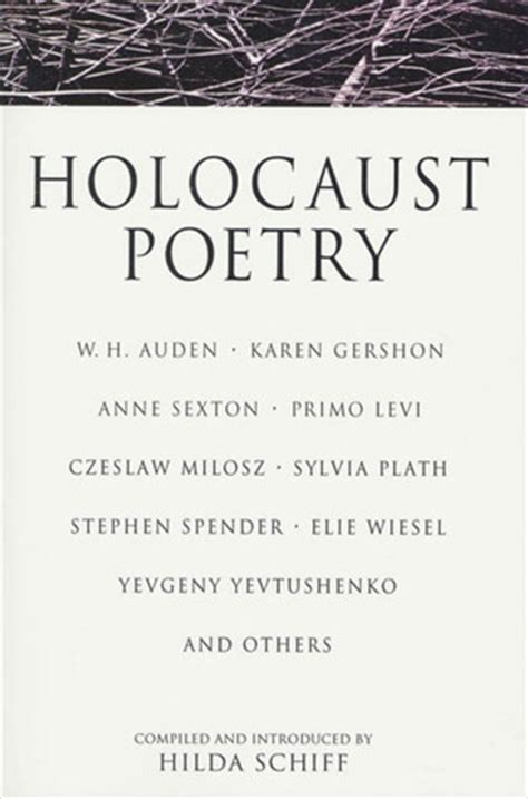 holocaust poetry  hilda schiff