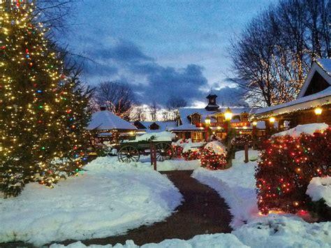 magical christmas towns  massachusetts