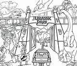 Gate Coloring Park Bridge Pages Golden Jurassic Getcolorings Printable Colori sketch template