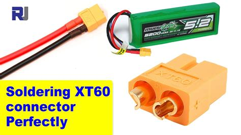 soldering replacing xt xt xt connector perfectly