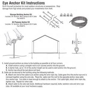 popular storage shed eye anchor kit shed fans
