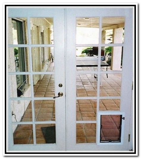 joyful french patio doors dog for the home pinterest