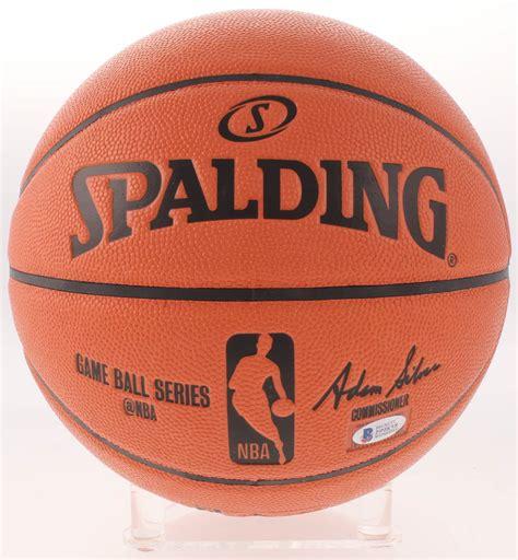 James Harden Signed NBA Game Ball Series Basketball ...