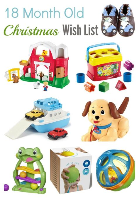 christmas wish list 18 month old