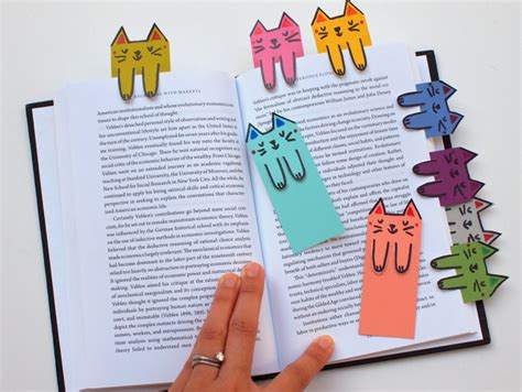 lesezeichen basteln grundschule purrrrfect cat themed diy projects you need to try right meow just imagine daily dose of