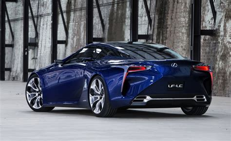 Lexus Trademarks 'lc 500' & 'lc 500h', Based On Lf-lc