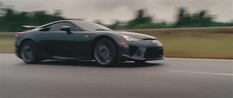 lexus lfa fast five the cars of the fast and the