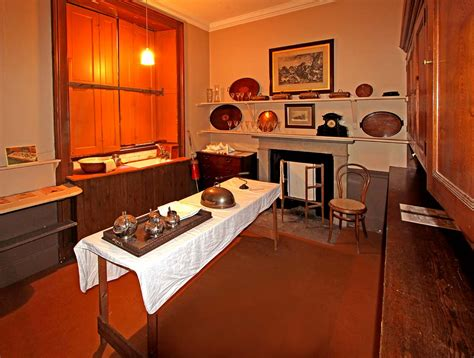 lauriston castle butlers pantry october