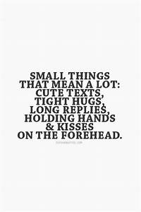 Its The Little Things Quotes. QuotesGram