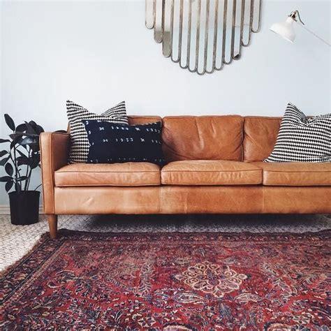 west elm hamilton leather sofa urban barn archives little dekonings