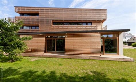 Modern House Exterior Wood Cladding Exterior Wood Panels