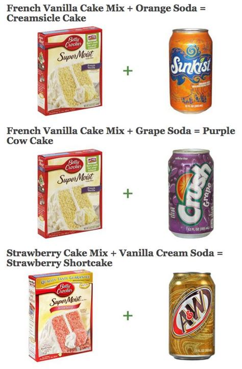 soda cake cake mixes sodas and cakes on pinterest