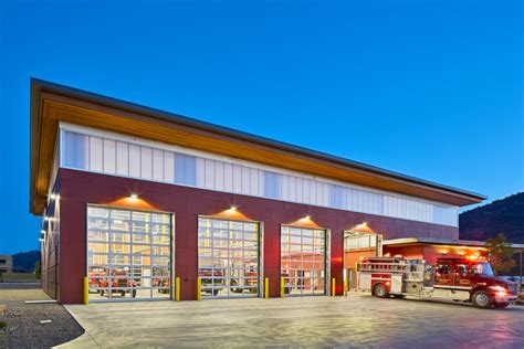 fire station   plans osoyoos canada fire hall