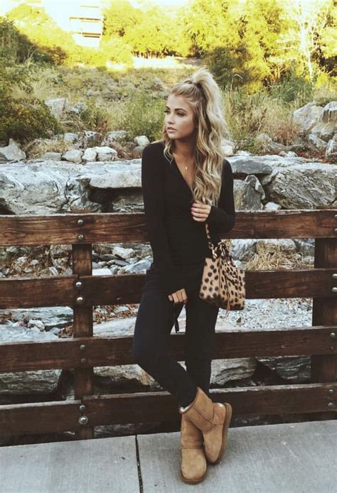 How to Get Away with Wearing UGGs Outdoors u2013 Glam Radar