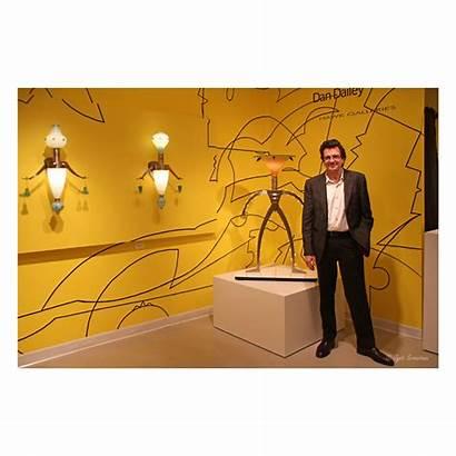 Dailey Dan Artist Glass Hawk Chicago Mart
