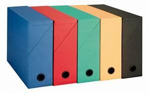 Boite De Classement Carton : bo te de classement carton recycl adine dos 9 cm couleurs assorties maxiburo ~ Teatrodelosmanantiales.com Idées de Décoration