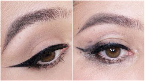 prevent eyeliner smudging tips tricks karima mckimmie youtube