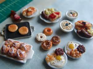 Miniature Dollhouse Food