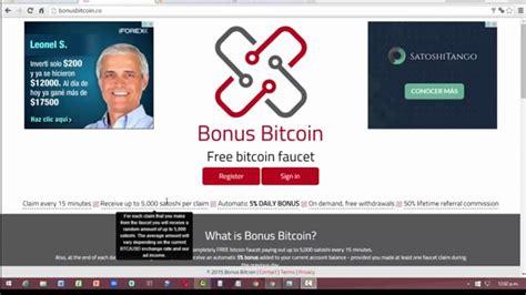 Bitcoin Faucet Hack 2015 by Bonus Bitcoin Nuevo Faucet Para Ganar Bitcoins Como
