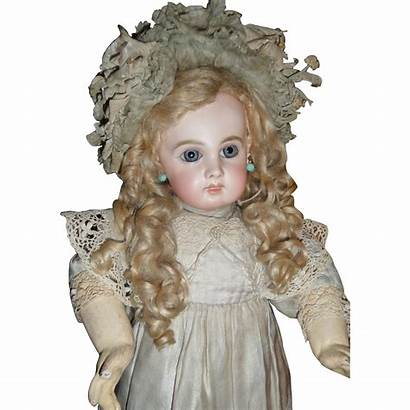 Antique Doll French Jumeau Portrait Spectacular Bebe