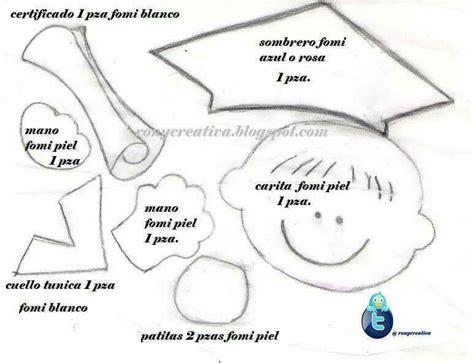 ni 241 o graduado molde imprimibles ni 241 os graduados de graduaci 243 n y