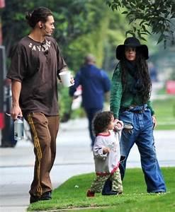 Actress Lisa Bonet Along With Her Boyfriend Jason Momoa