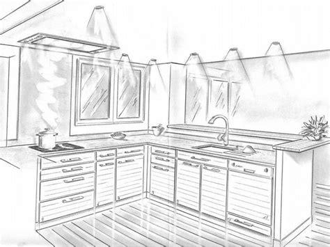 dessiner en perspective une cuisine 1000 images about dessiner une cuisine en perspective on