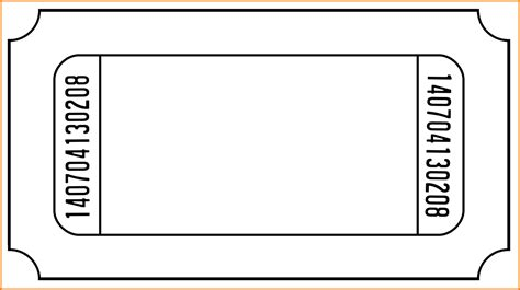 Ticket Template Word Ticket Template Word Authorization Letter Pdf
