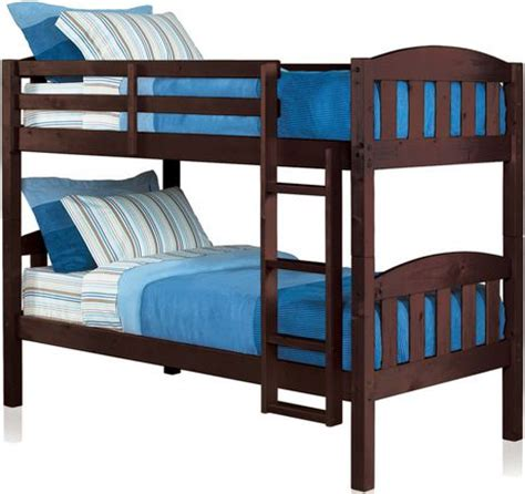 Walmart Wood Bunk Beds by Mainstays Wood Bunk Bed Espresso Walmart Ca