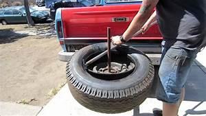 Homemade Manual Tire Changer Bar