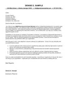 cover letter for sales manager