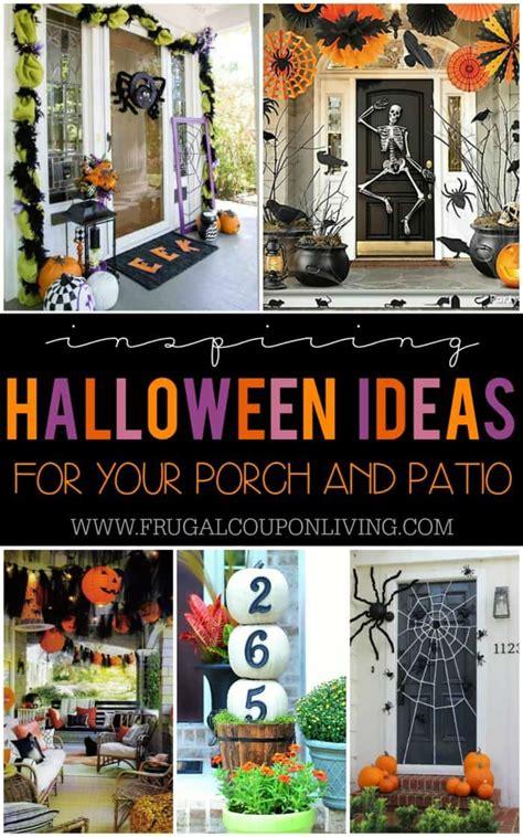 boo tiful porch halloween ideas  patio inspiration