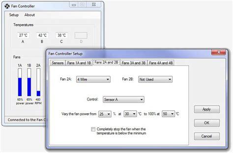 fan speed control software geoff 39 s projects intelligent fan controller