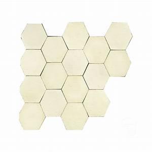 Carrelage Imitation Tomette Hexagonale : trendy tomette hexagonale ton pierre cir tomette en pierre ~ Zukunftsfamilie.com Idées de Décoration