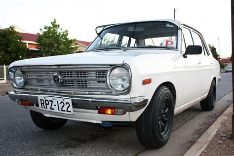 Datsun B110 by Datsun B110 4 Door Watanabe 13 X 7 Fitted Datsun 1200 Club