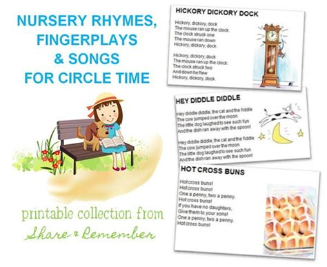 nursery rhymes fingerplays amp songs printables 994 | Clip00282